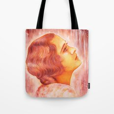 Heading for a fall (Vintage Portrait) Tote Bag