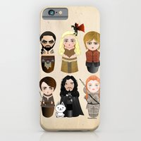 Kokeshis Game of Thrones iPhone & iPod Case