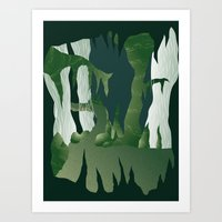 Shenmue - The Great Ston… Art Print
