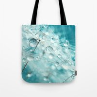 Dandy Starburst in Blue Tote Bag