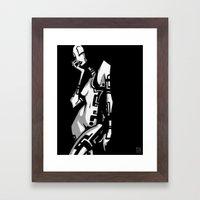 TATTOO GIRL ONE Framed Art Print