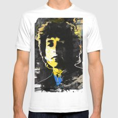 bob dylan 06 Mens Fitted Tee White SMALL