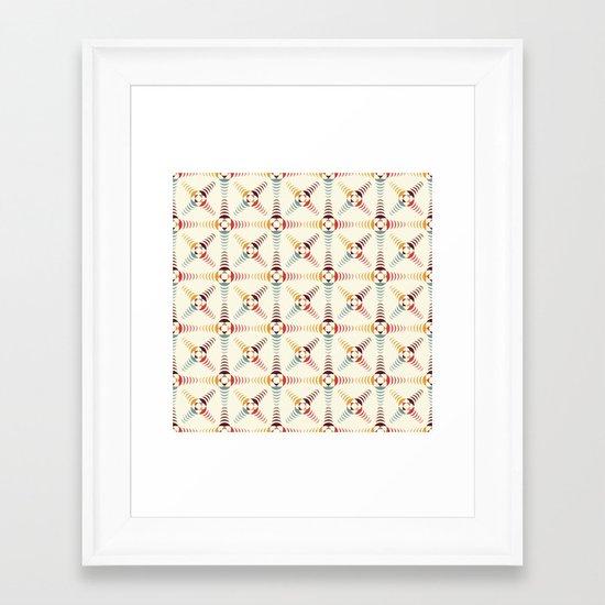 Good Vibratons [Crosses] Framed Art Print