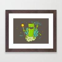 Ruler of the Universe Framed Art Print
