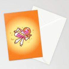 Space Velvet (lemon-mango) Stationery Cards