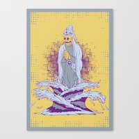 Guardian Of The First Di… Canvas Print
