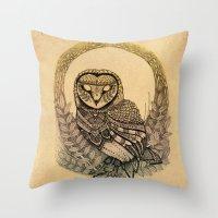 Equinox Throw Pillow