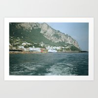 Capri 1 Art Print