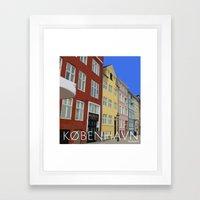 København - Nyhavn Framed Art Print