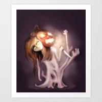 Dreaming of Halloween Art Print