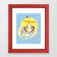 Park Princess Framed Art Print
