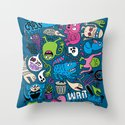 Wait, What? Throw Pillow