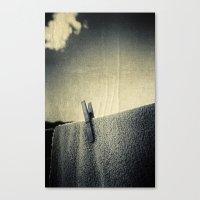 Peg Canvas Print