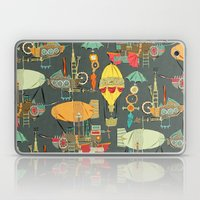 steampunk sky dark Laptop & iPad Skin