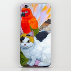 KITTY AND FRIENDS iPhone & iPod Skin