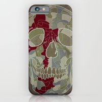 iPhone & iPod Case featuring Road Map to Hell by Static44