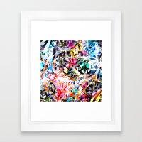 Craziness Framed Art Print