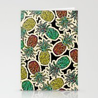 Pineapple Pandemonium Tw… Stationery Cards