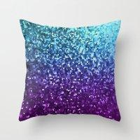 Mosaic Sparkley Texture … Throw Pillow