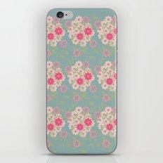 Flower pad iPhone & iPod Skin