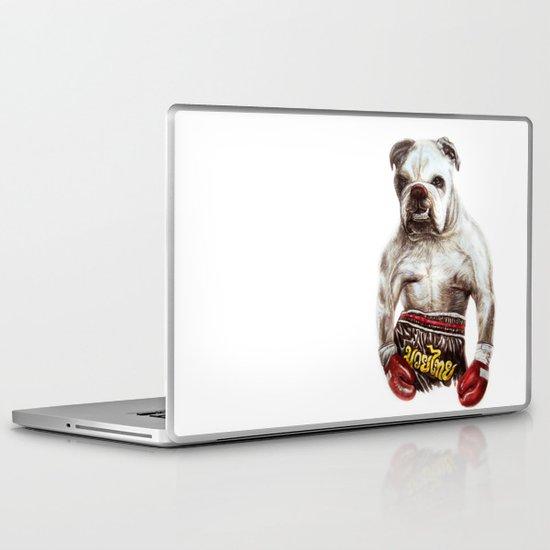 killer dog Laptop & iPad Skin