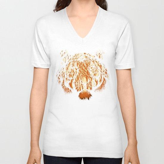 Hidden Hunter V-neck T-shirt
