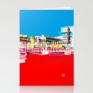 Stationery Cards featuring Bauhaus · Das Bauhaus 1 by Marko Köppe
