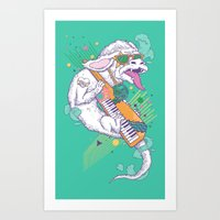 Art Print featuring NeverEnding Solo by Alvaro Arteaga