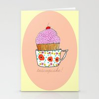 Teacupcake! Stationery Cards