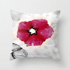 Pansy 091 Throw Pillow