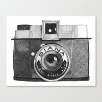 diana camera Canvas Print