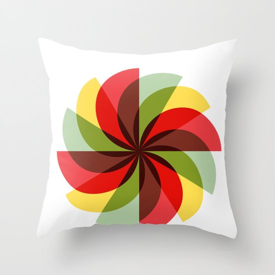 Windmill (2012) Throw Pillow