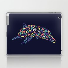 Abstract Dolphin Laptop & iPad Skin