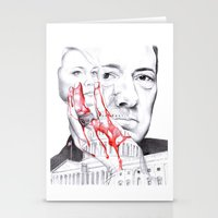 House of Cards Stationery Cards