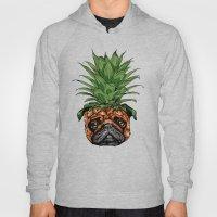 Pineapple Pug  Hoody