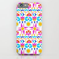 iPhone & iPod Case featuring Happy Geo by Sian Keegan
