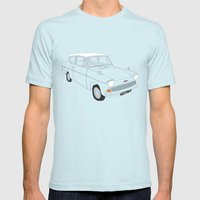Weasley's Flying Ford An… Mens Fitted Tee Light Blue SMALL