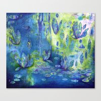 Floating Dance Canvas Print