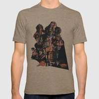 Rogue Squadron // Unsung… Mens Fitted Tee Tri-Coffee SMALL
