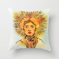 Leo (Zodiac series) Throw Pillow