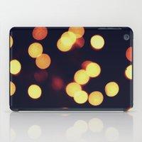 cool lights bokeh2 iPad Case
