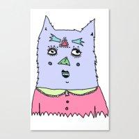 Gato Magico#4 Canvas Print