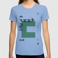 vol.3 nº3 Womens Fitted Tee Athletic Blue SMALL