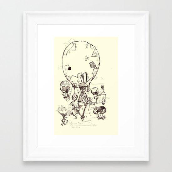 Stitchpunk Framed Art Print