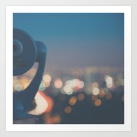 Being A Tourist In LA ..… Art Print