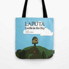 Laputa Castle in the Sky Tote Bag