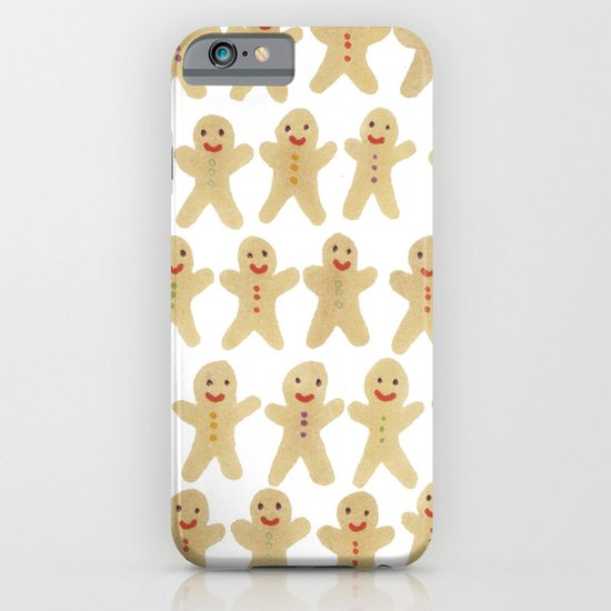 Gingerbread people iPhone & iPod Case