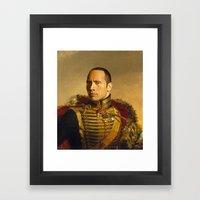 Dwayne (The Rock) Johnso… Framed Art Print