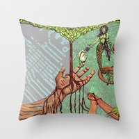 Create Destroy Throw Pillow