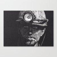 Mineworker Canvas Print